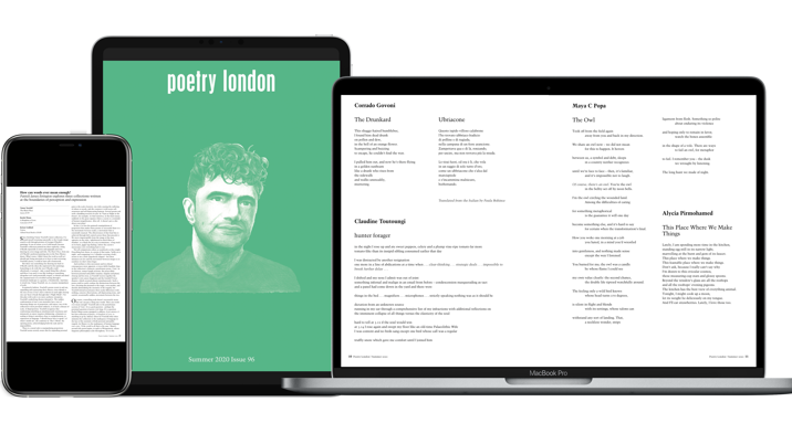 Poetry London Launches Complete 24-Year Digital Archive For Institutions