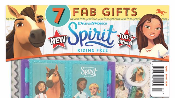Launch: Spirit Riding Free