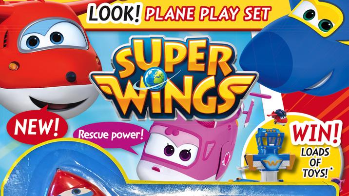Launch: Super Wings magazine