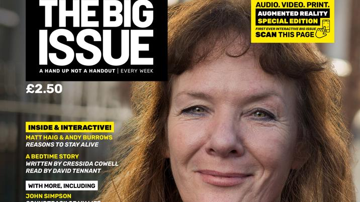The Big Issue implements Augmented Reality