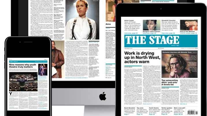 The Stage Launches Digital Edition