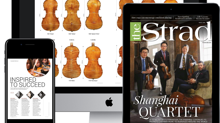 The Strad Sells Subscriptions to Digital Archive