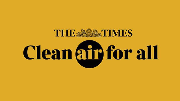 The Times launches 'Clean Air for All' campaign