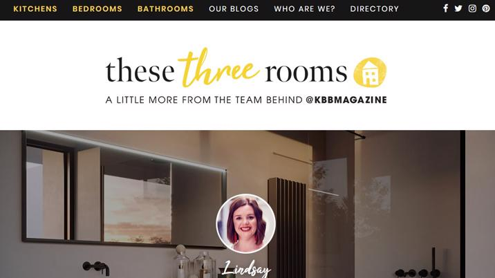 Kitchens Bedrooms & Bathrooms magazine launches These Three Rooms