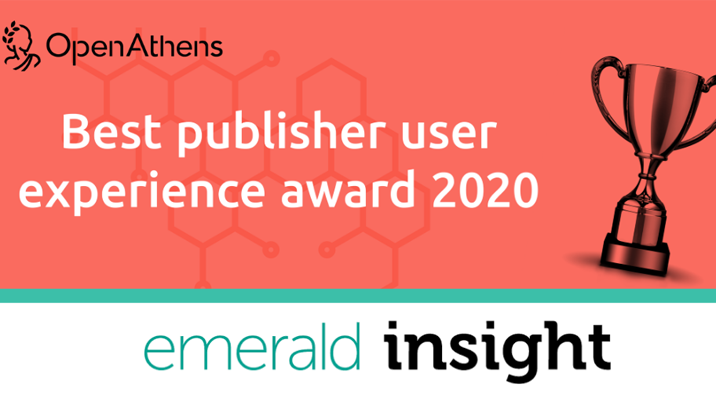 OpenAthens announces winner of best publisher UX award 2020