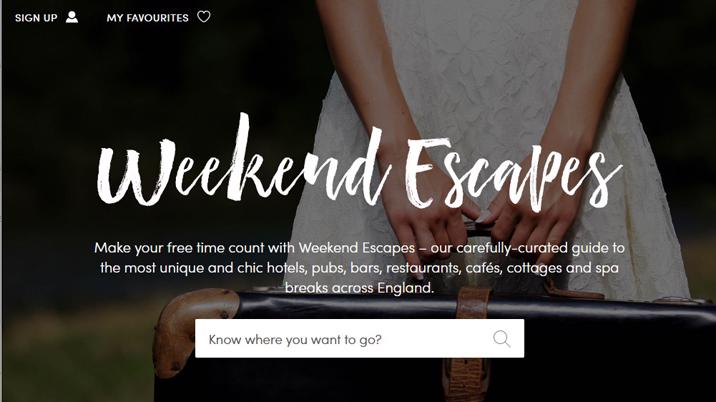 Muddy Stilettos launches 'Weekend Escapes'