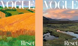 "Vogue ""resets"" for its August issue"