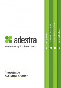 Adestra Customer Charter