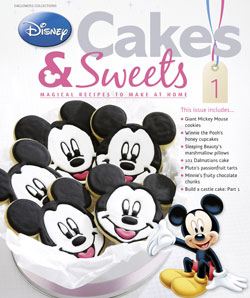 New partwork: Disney Cakes & Sweets