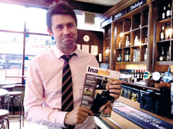 Matt Eley - editor of Inapub magazine
