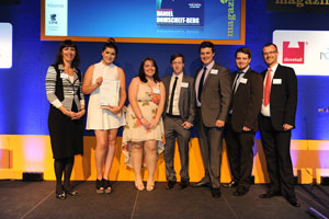 Student journalists at the University of Sheffield swept the board at this year's Magazine Academy competition.