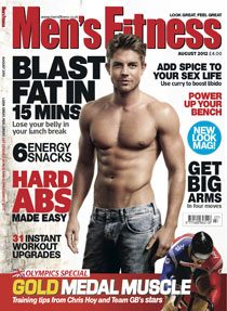 Men's Fitness redesigned for August issue