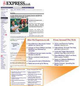 Express Newspapers instals Outbrain
