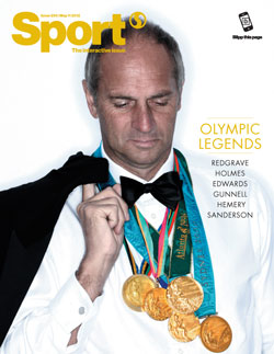 Sport magazine interactive issue