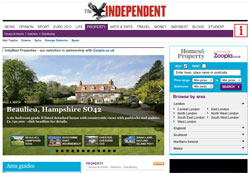 Zoopla signs exclusive deal with Standard and Independent